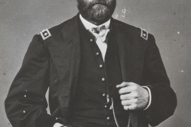 "Former Civil War-era US Army commander, General Ulysses S. Grant."""