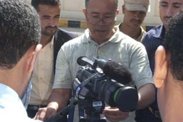Combat Camera builds partnership with Yemen Coast Guard