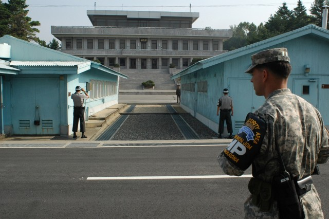 Soldiers in South Korea ready for war 365 days a year