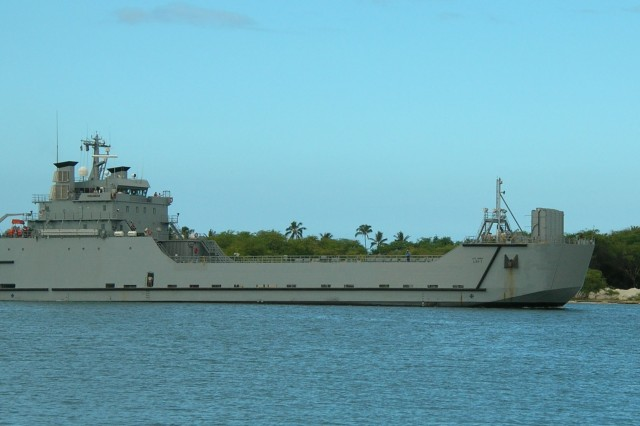 he new Army logistic support vessel SSGT Robert T. Kuroda has arrived at its home port of Honolulu, Hawaii, after a 5,000-mile delivery voyage from Pascagoula, Miss.