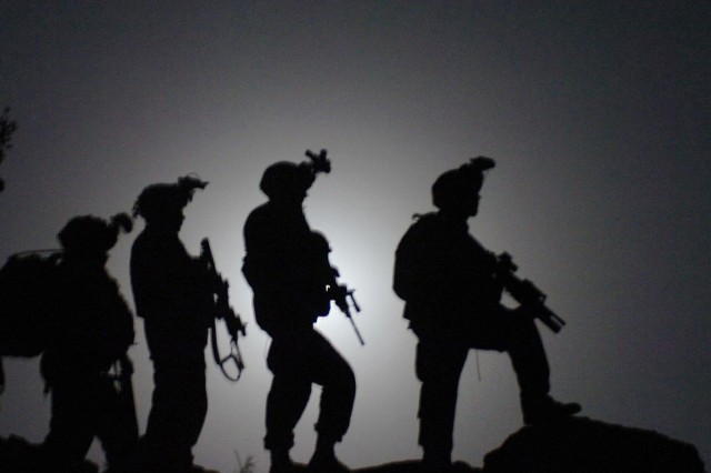 Soldiers from the 10th Mountain Division patrol Nuristan Province, Afghanistan. Click here for related story. This photo appeared on www.army.mil.