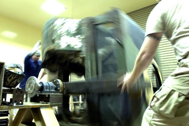 Raising the HEAT: Rollover Simulator Set to Deploy