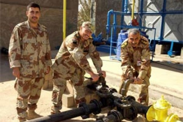 Iraqi Army reopens water treatment facility