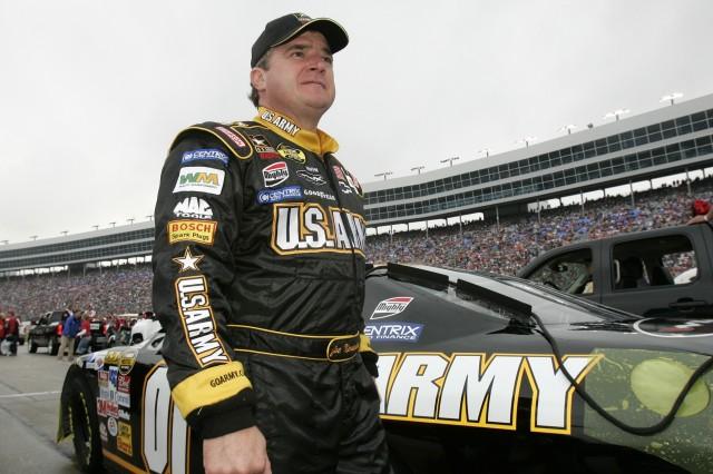 Joe Nemechek earned an 18th-place finish at Texas Motor Speedway Nov. 5.