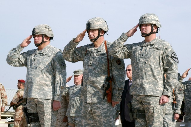1st Cavalry Division Takes Multinational Division Baghdad Reins