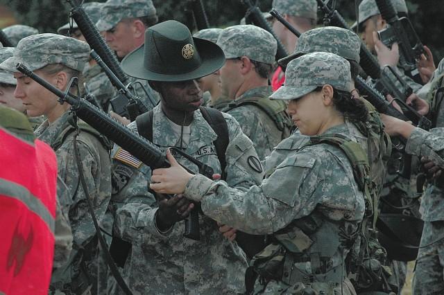 Army ad agency samples basic training