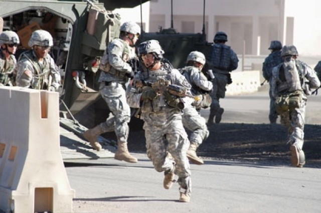 The 4th Battalion, 9th Infantry Regiment, 4th Stryker Brigade Combat Team, 2nd Infantry Division, at Fort Lewis, Wash., spent three months testing the Land Warrior System that will be deployed within the year.
