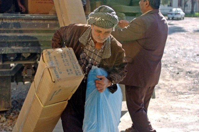 Kirkuk Hospital, Clinics Receive Medical Supplies