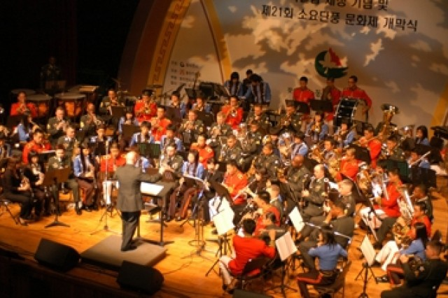 ROK, U.S. Soldiers play joint concert