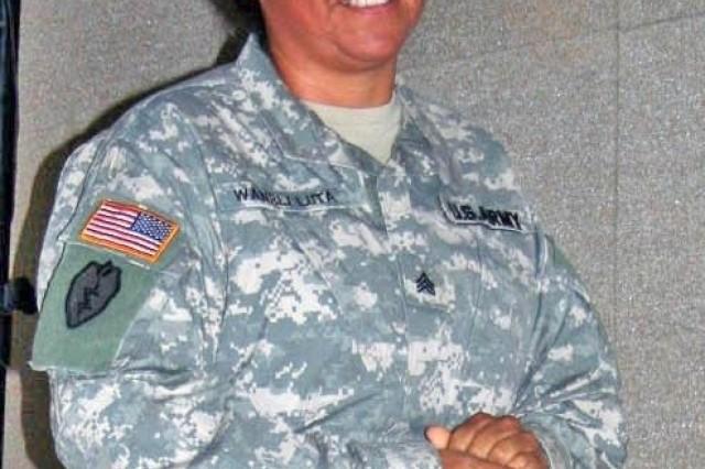 """Sgt. Arvella """"Red Eagle"""" Wanbli-Luta"""