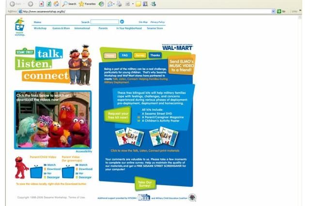 Deployment video helps children cope