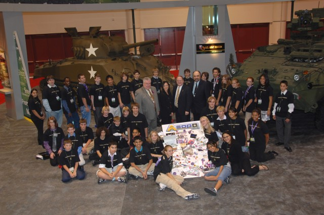 eCybermission participants see latest technologies at Army Science Fair