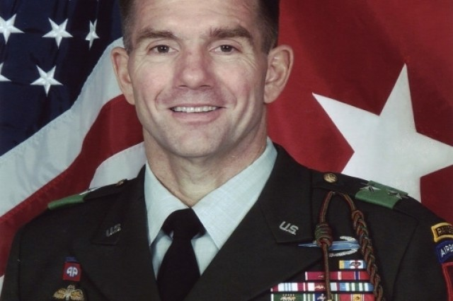 Maj. Gen. William Caldwell, a coalition spokesman, at a news conference from Baghdad Dec. 5, 2006