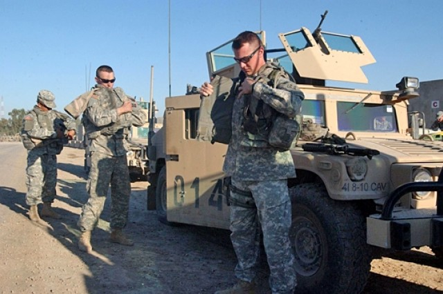 Newly Arrived Troops Make Safety Priority