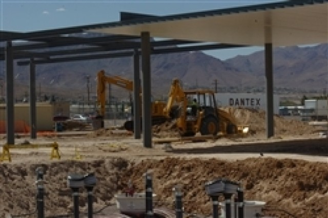 An expansion of Fort Bliss, Texas' post-exchange facility, including a shoppette and gas station, is part of the growth plan that will be implemented during the next five years to accommodate 20,000 more troops and 27,000 more family members.