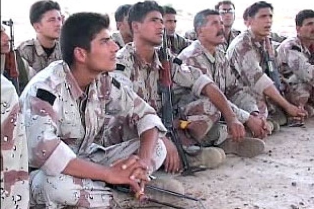 Iraqi Soldiers in Training
