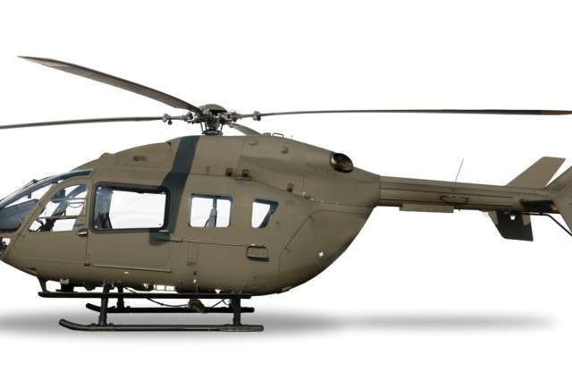 Army unveils first Light Utility Helicopter UH-72A Lakota