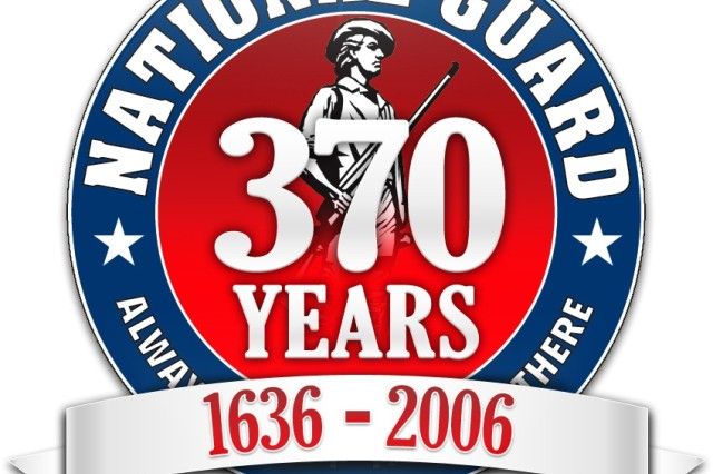 National Guard 370th Birthday Logo