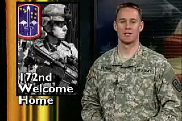172nd Welcome Home / Guard Painting