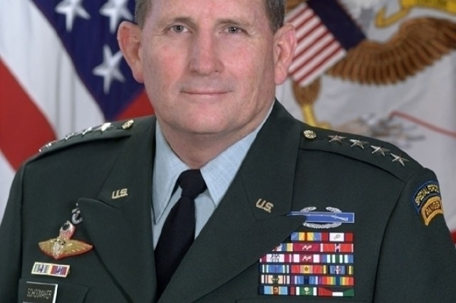 Chief of Staff of the U.S. Army, General Peter J. Schoomaker