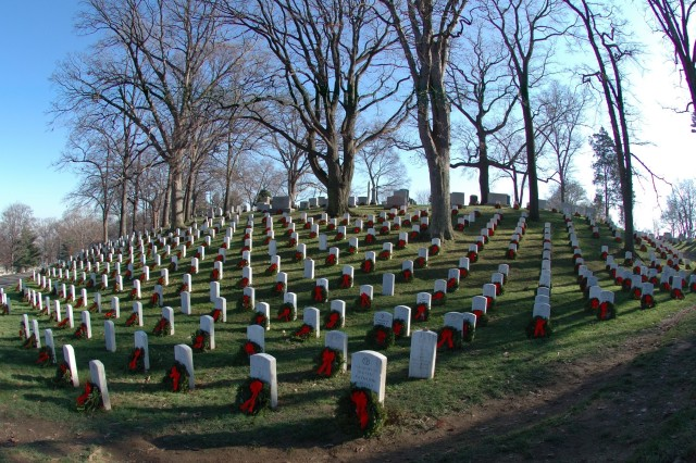 Morrill Worcester of Harrington, Maine, has been donating wreaths to veterans' cemeteries since 1992 through Wreaths Across America. This year he donated wreaths to be laid at the graves of 230 national and state veterans' cemeteries across the United States.