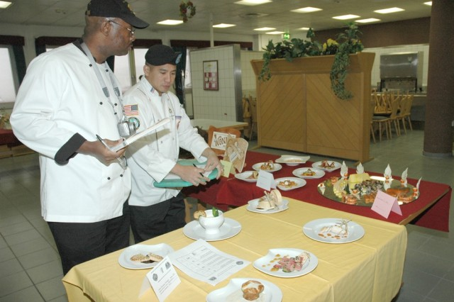 U.S. Army Garrison Hessen Public Affairs Office Cooks from throughout U.S. Army Europe left Hanau Dec. 15 inspired to enhance the quality of culinary fare at dining facilities throughout the theater.