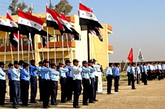 New recruits graduate from the Transition Integration Police Academy and will join Iraqi Police stations throughout the 37 districts of the Kirkuk province to help make the city safer. The 53 graduates complete an intensive 12 week course learning Iraqi law, human rights, criminal law and self-defense.