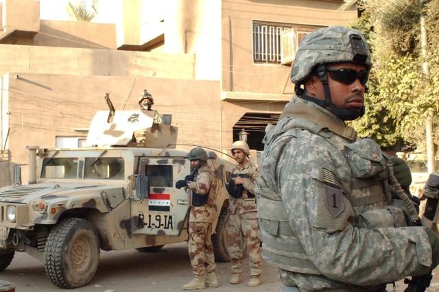 Patrolling Adhamiya