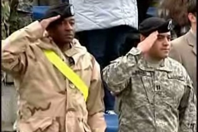 Baumholder Welcomes Home Troops