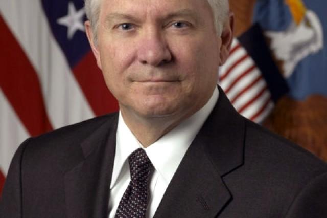Defense Secretary Robert M. Gates