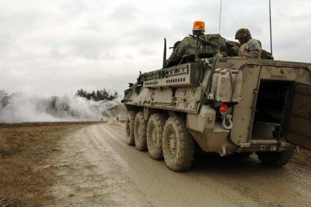 Strykers shift to high gear in Grafenwoehr