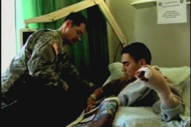 Caring for Wounded Soldiers