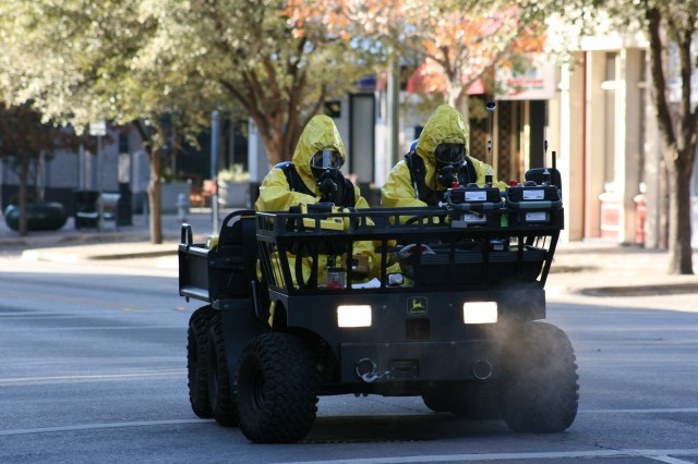 Texas National Guard Team Puts Training to Good Use
