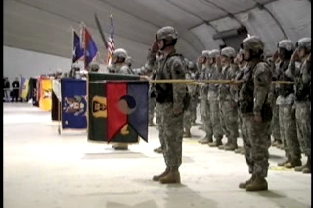 Coalition forces in Kosovo are marking the beginning of a new chapter. SPC Kevin Link has the latest from Camp Bondsteel.