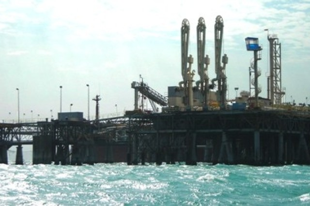 The Al Basrah Oil Terminal, or ABOT, is Iraq's principle export facility located near the Persian Gulf.