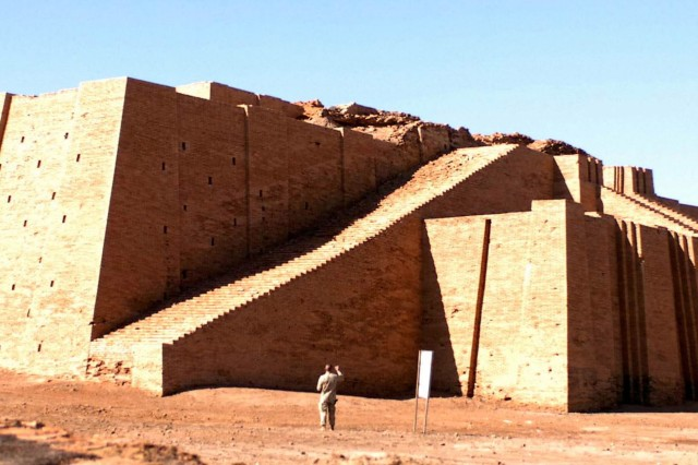 The Ziggurat at Ur, Iraq, is more than 6,000 years old. Soldiers from the 449th Aviation Support Battalion, 36th Combat Aviation Brigade, had the opportunity to visit this historic landmark on Nov. 30.