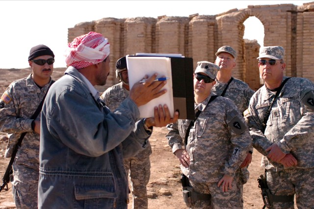 Soldiers Visit Roots of Faith in Iraq