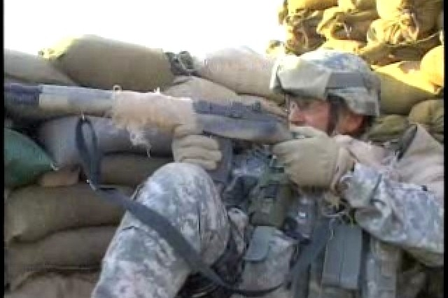 U.S. military and Iraqi police are undergoing specialized training to counter sniper attacks. SPC Samantha Szesciorka has more from Muqdadiyah.