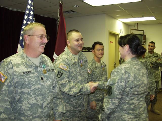 Fort Hood Medical Soldiers Awarded for Heroism
