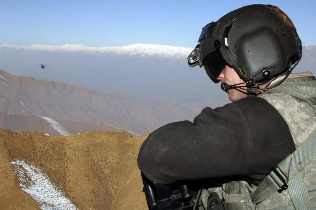 Staff Sgt. Clint Ezell stays vigilant and ready for the unexpected.