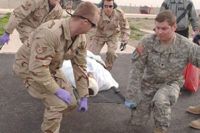 Kirkuk Soldiers and Airmen provide care following attack