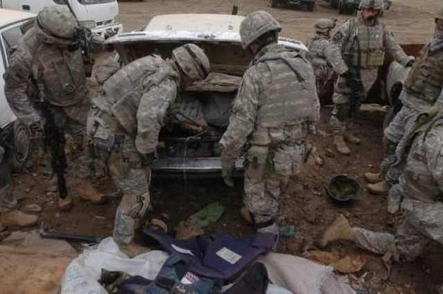 Soldiers Work to Make Baghdad's Adhamiyah District Safer for Residents