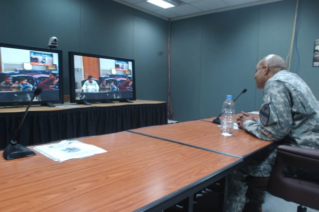 Technology Helps Soldiers Stay Close to Loved Ones