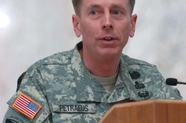 Gen. David H. Petraeus, upon taking the helm of Multi-National Force-Iraq Feb. 10.