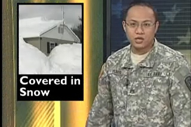 GEN Petraeus takes over MNF-I; NY NG ready to assist in snow covered NY.