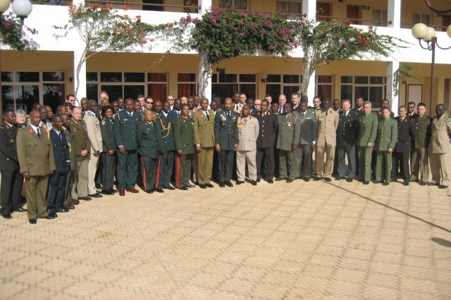 Military communicators from 22 nations gathered here Feb. 13-16 for the Africa Endeavor 07 mid-planning conference. Military representatives finalized communications interoperability tests to be conducted during the U.S. European Command-sponsored exercise, scheduled for July, in Ditholo, South Africa.