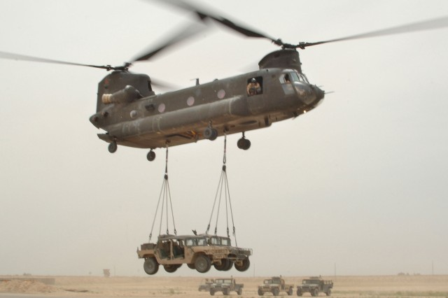 Equipment Airlifting