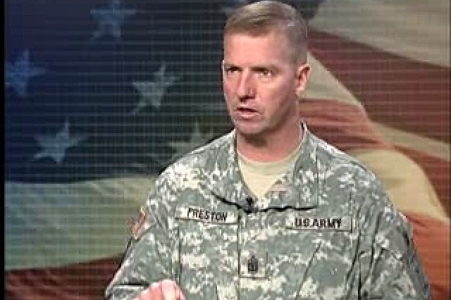 SMA Preston Says NCOs will help QOL issues at Walter Reed.