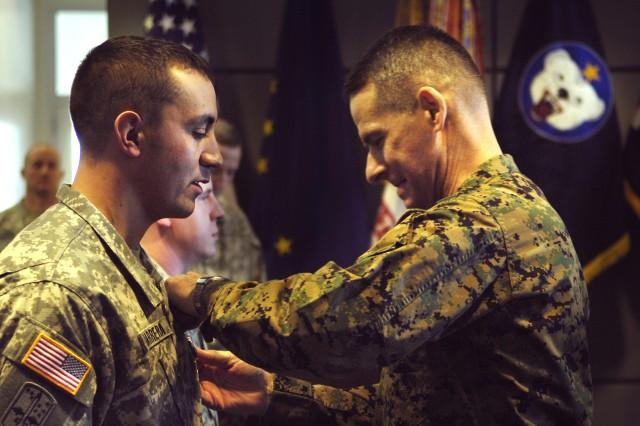 Staff Sgt. Berrera, Jr. and Pfc. Joseph Receive Silver Stars
