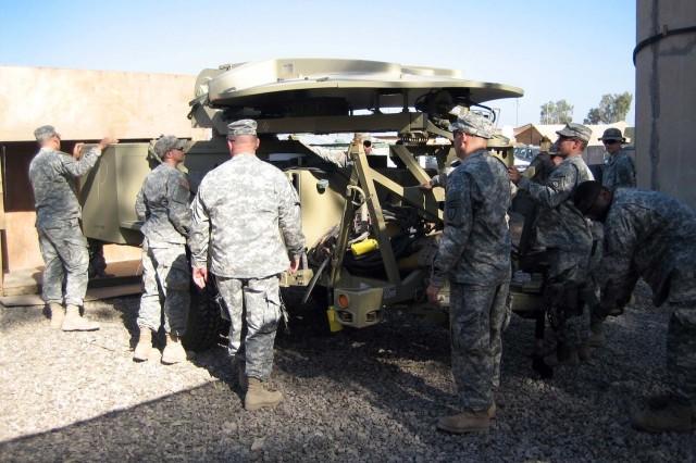 Signal Company Keeps Brigade Talking
